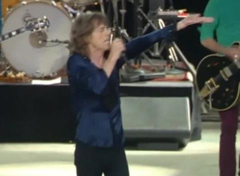News video: The Rolling Stones Restart the Fire