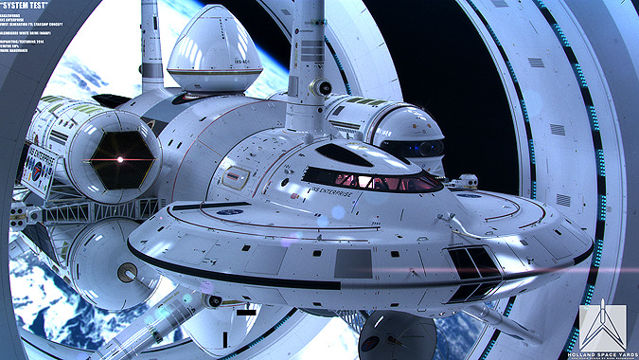 News video: Will NASA's IXS Enterprise Starship Make Interstellar Travel Reality?
